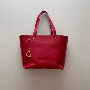 Lauren Ralph Lauren - Red Tote Bag